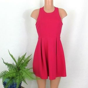 Lulus Cutout and About Skater Dress Fit & Flare SM